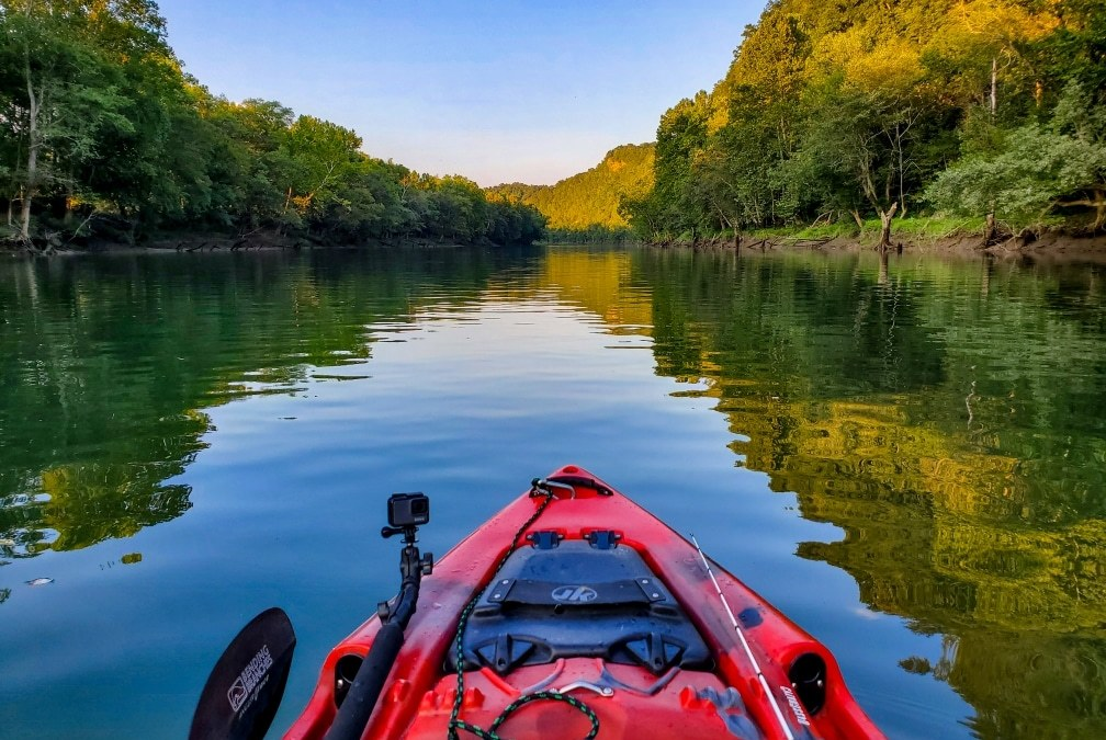 Trout Unexpectedly   Kayak Fishing