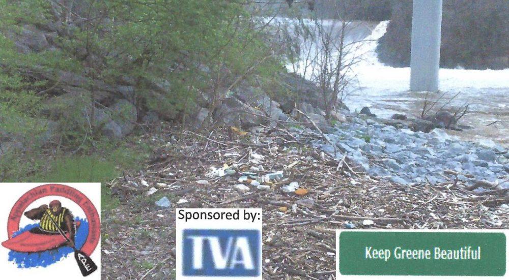Nolichucky Dam Access Cleanup