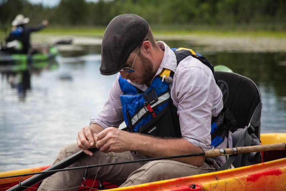 The Kayak Fishing Show in Canada with Brock Zeman