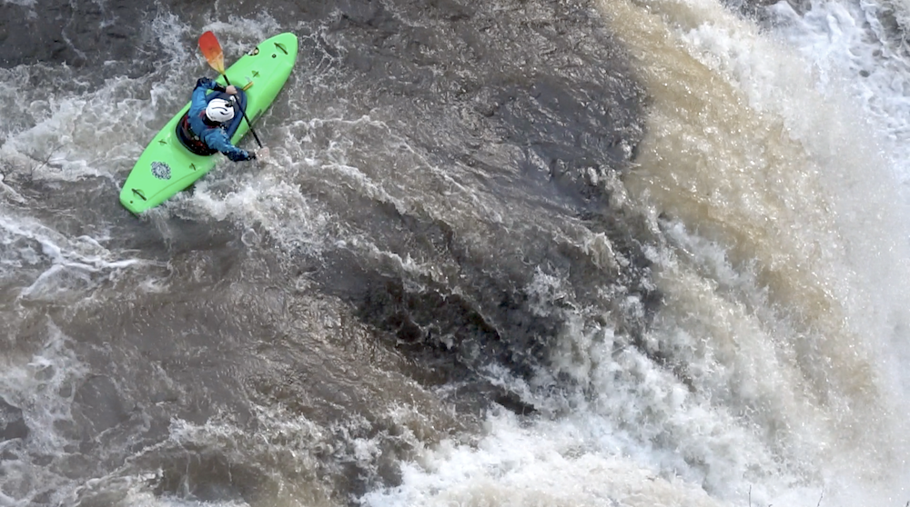 The Double Drop | Riding the Melt on Tumalo Creek