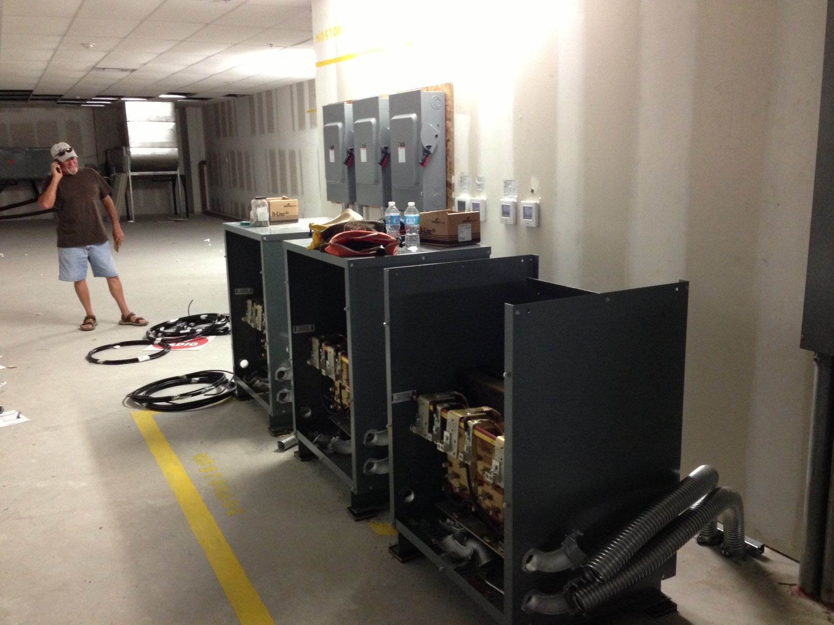 commercial electrical panels construction remodel