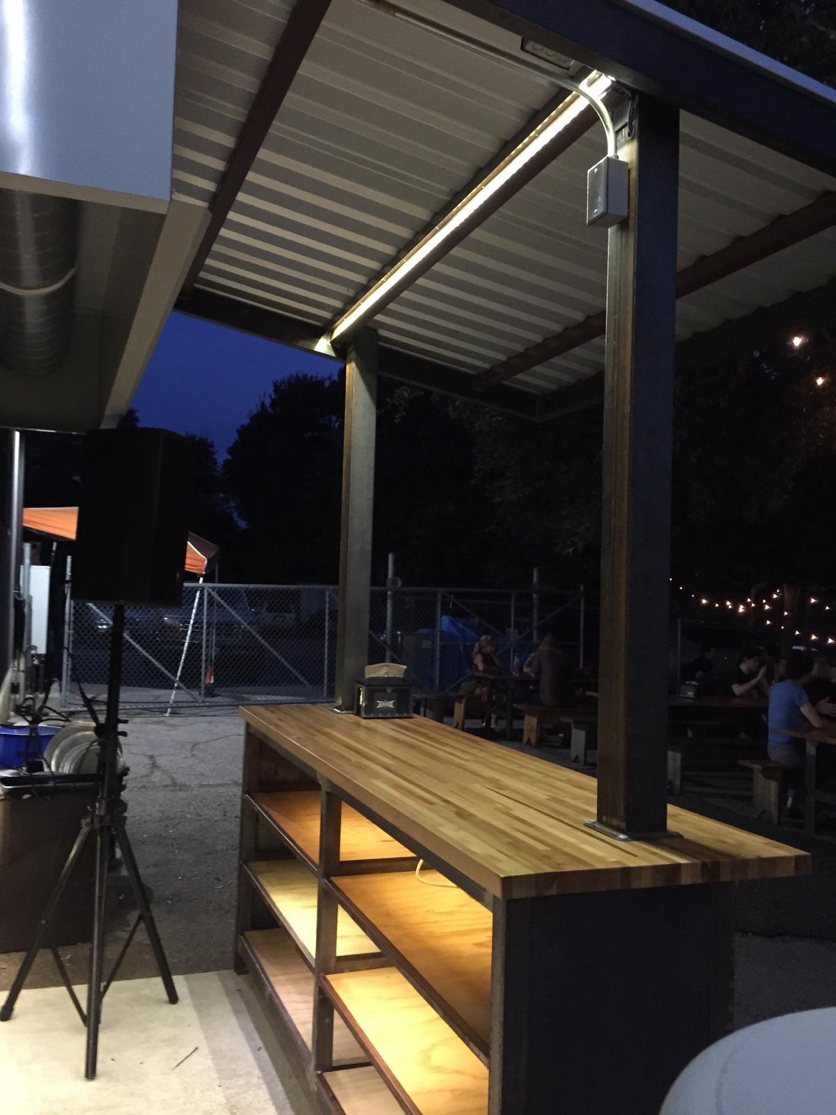 custom led bar lighting electrical commercial business