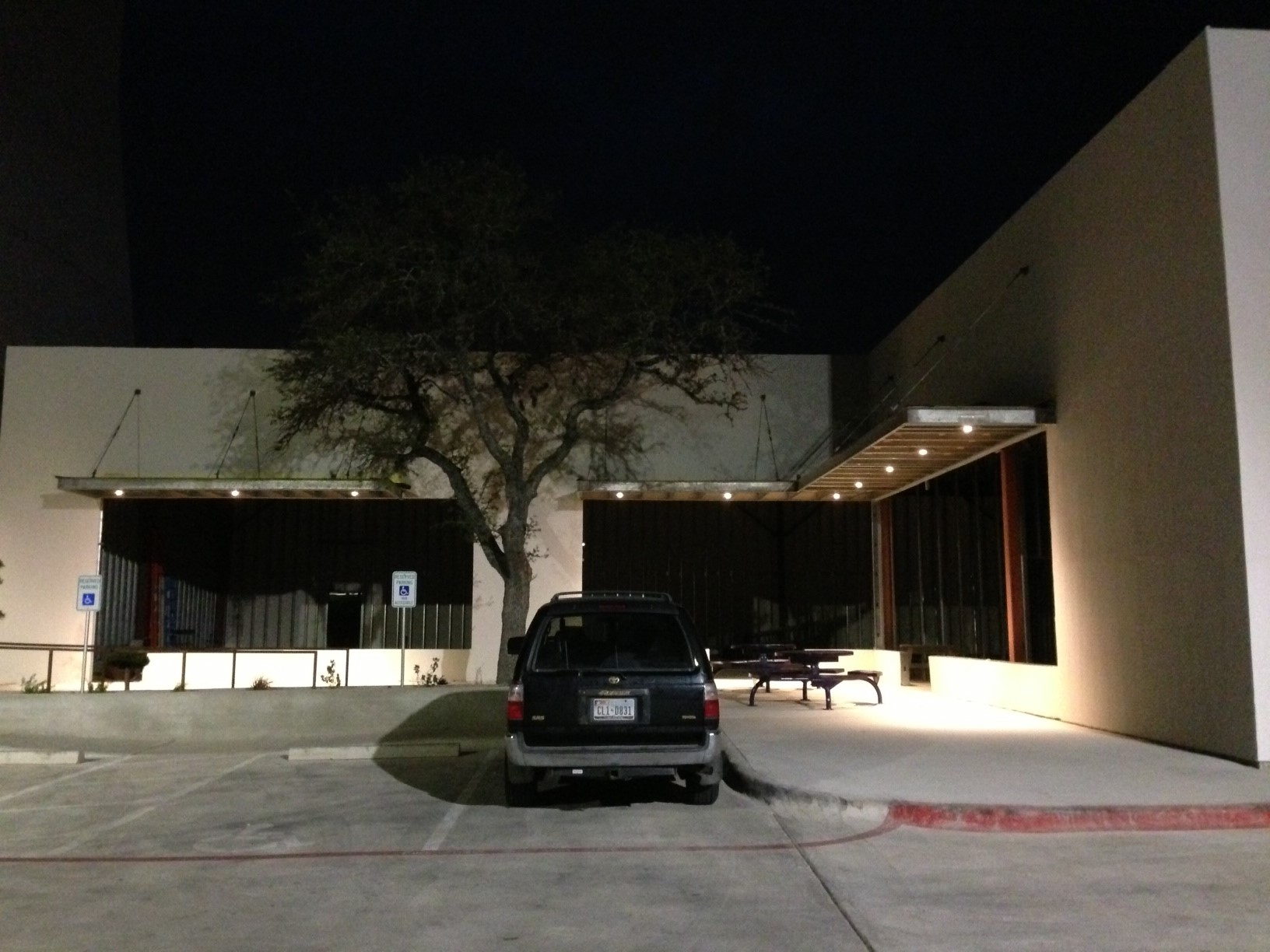 austinville construction electrical led exterior lighting