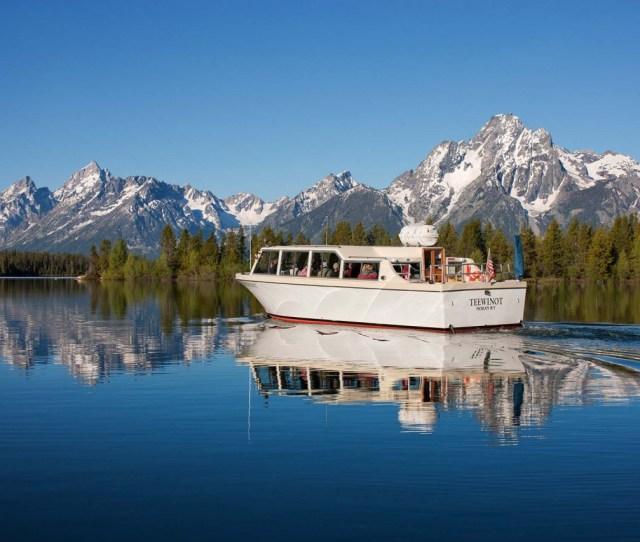 Grand Teton Lodge Company Jackson Lake Boat Cruise