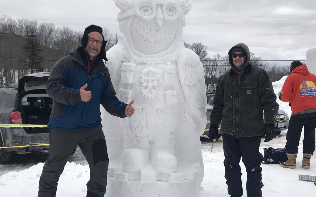 NH Sanctioned & Jackson Invitational Snow Sculpting Competition
