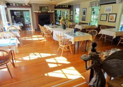 Dining at the Notchland Inn