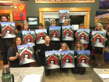 Sip and paint classes offer fun and learning at jackson art studio