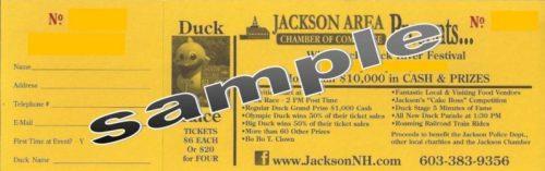Duck tickets