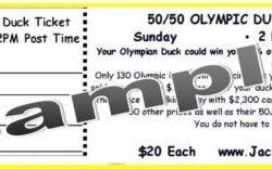 $6 Duck Tickets