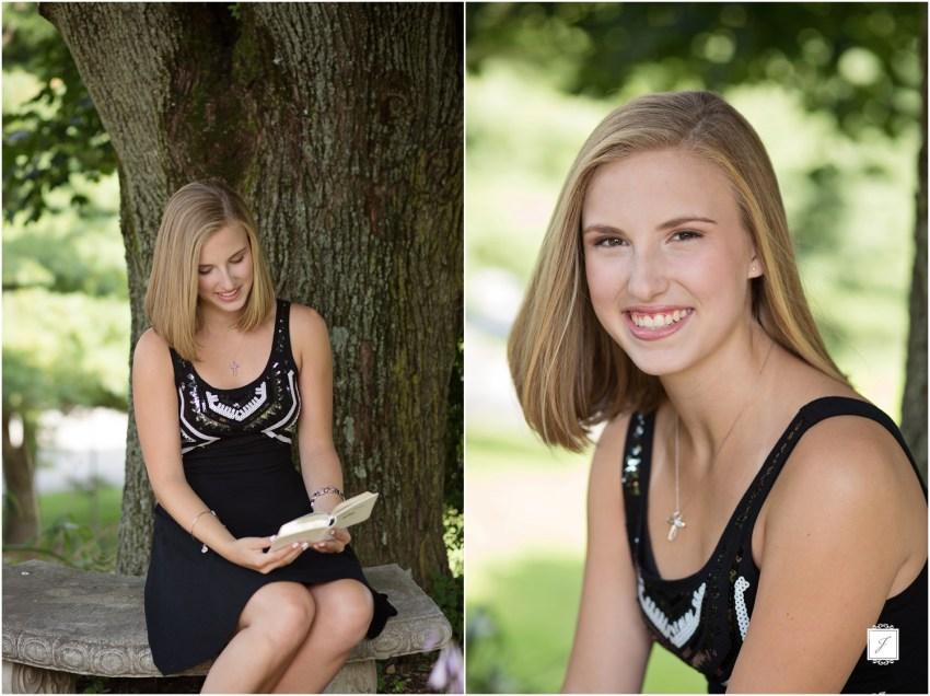 Greensburg High School Senior Portraits by Jackson Signature Photography