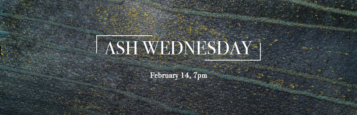 Ash Wednesday 2018 at Jackson UMC