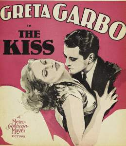O BEIJO===The Kiss (released in 1929) - starring Greta Garbo, Conrad Nagel and Lew Ayres
