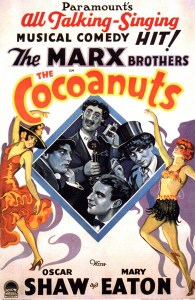 the-cocoanuts-1929-marx-brothers-movie-poster