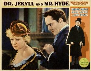 fredric march miriam hopkins dr jekyll and mr hyde lobby card 2