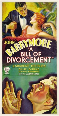 Poster - A Bill of Divorcement (1932)_01