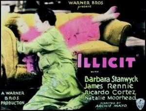 Illicit_1931_Poster