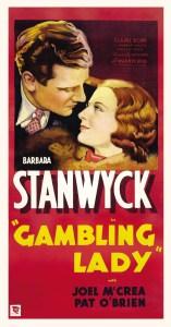 Poster - Gambling Lady (1934)_04