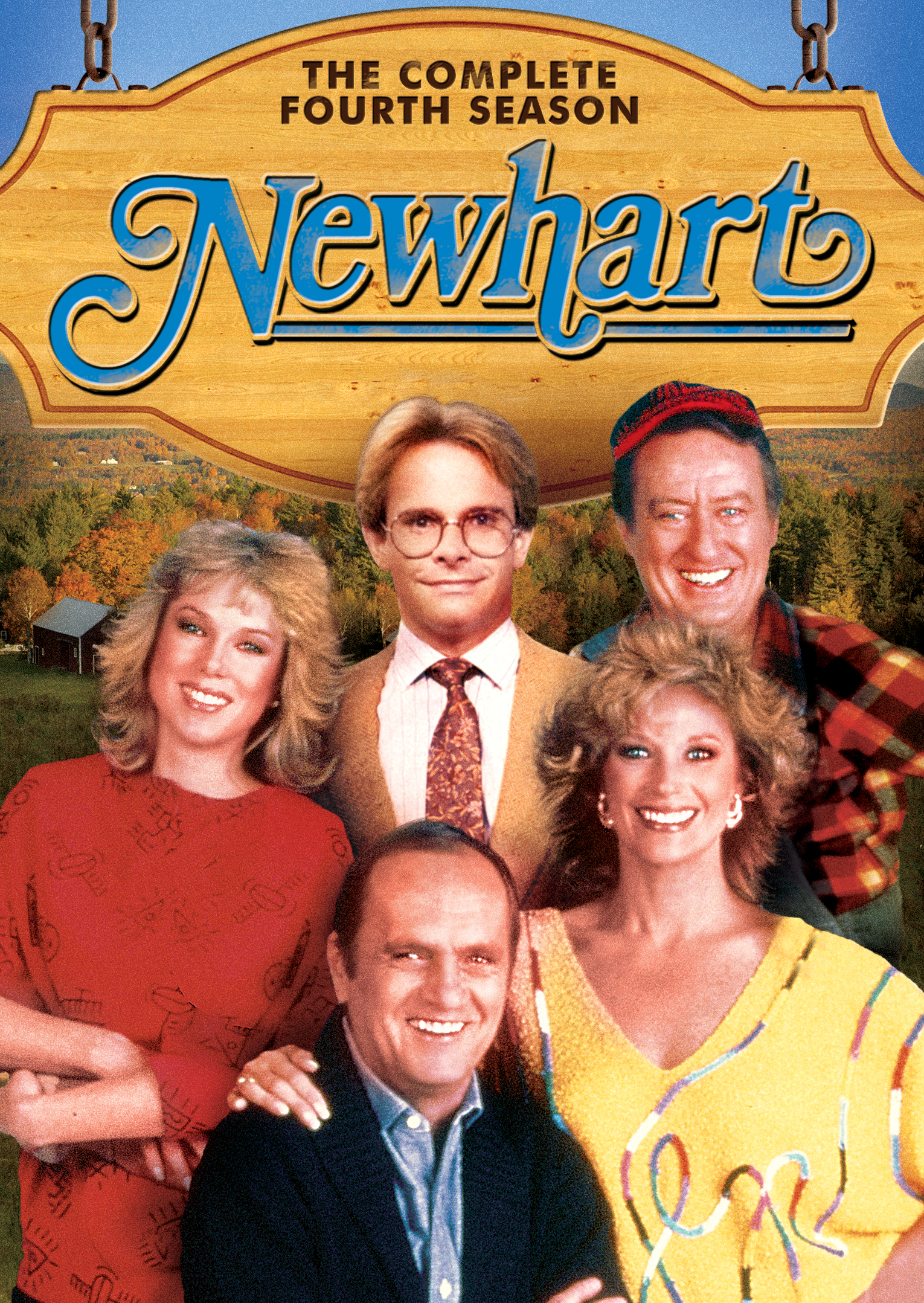 An author and his wife run a quaint country inn in Vermont. Newhart stars  BOB NEWHART as Dick Loudon, MARY FRANN as Joanna Loudon, TOM POSTON as  George ...