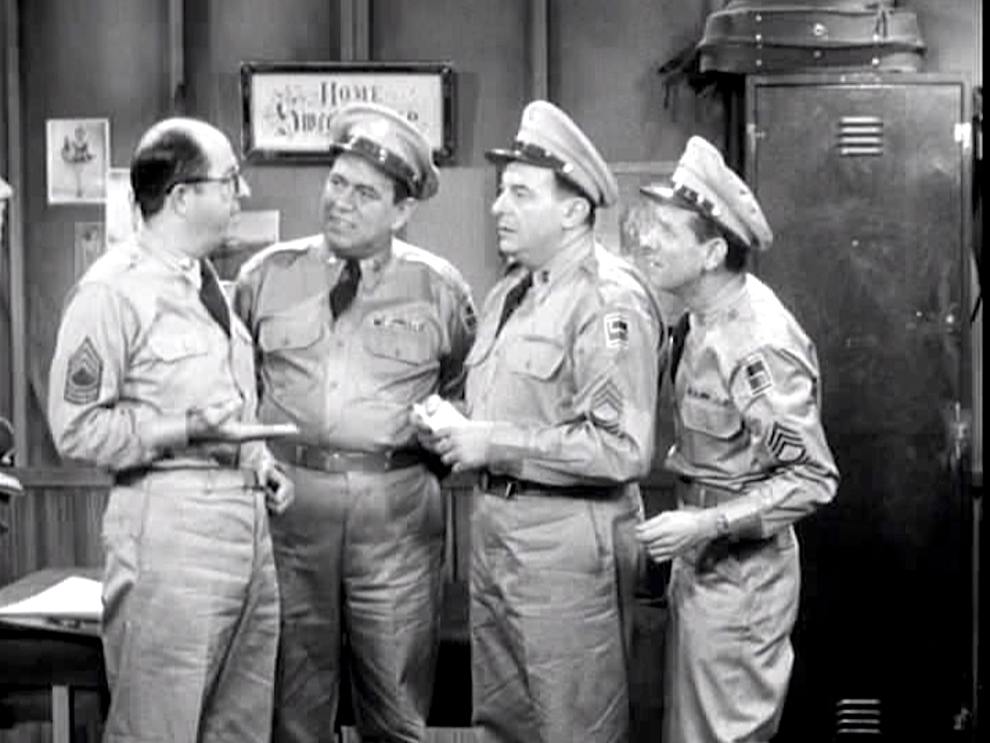 The Phil Silvers Show : SE 01 Ep 21 : Bilko's Rest Cure