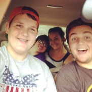 The Pittman Kids on a Road Trip