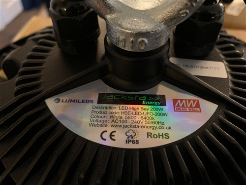 LED High Bay 120w light Lamp X/L IP55