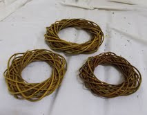 Green Willow Rings