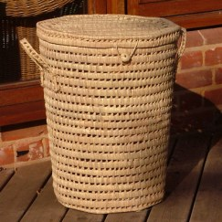 Palm Linen Basket