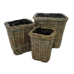 Square Planter with Liner