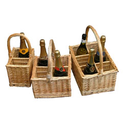 2, 4 and 6 Bottle Carriers