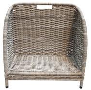 Open Log Storage Basket