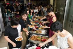 Food and festivity as part of litigation