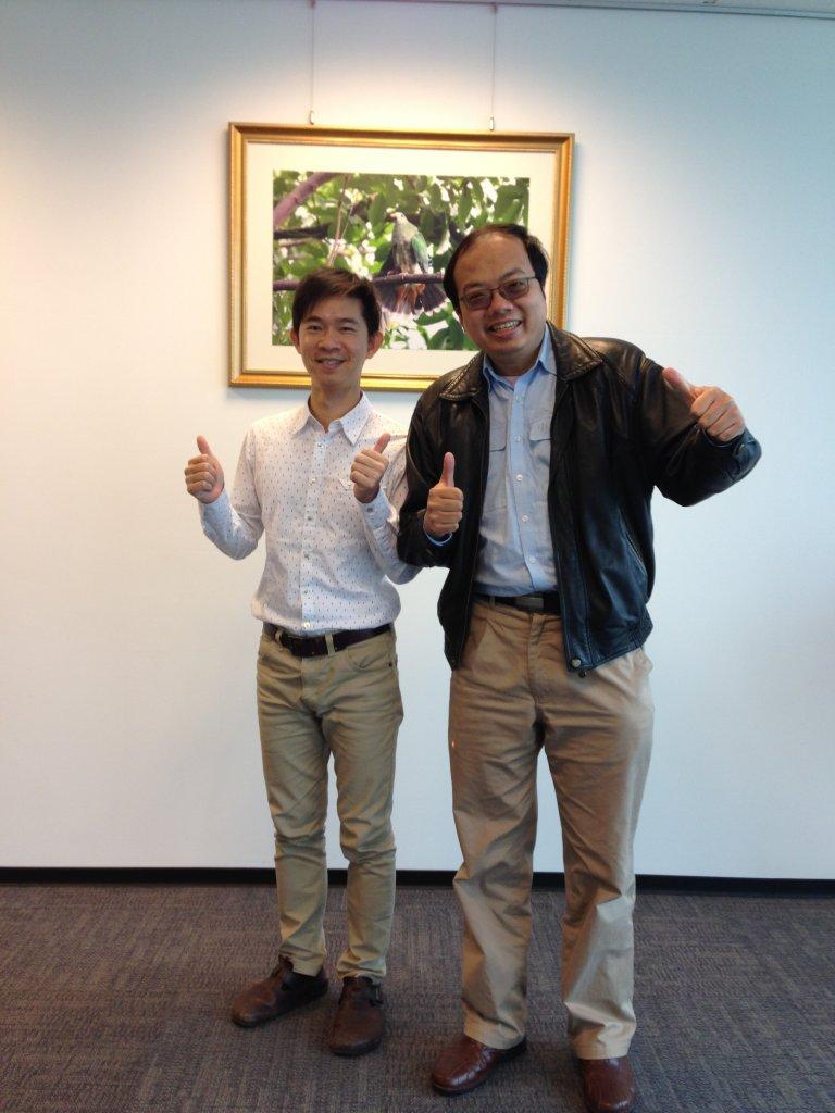 中鋼集團教育基金會-劉純宇與傑克老師