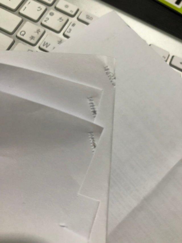 Kokuyo Harinacs-SLN-MPH105-釘3張分開紙張測試