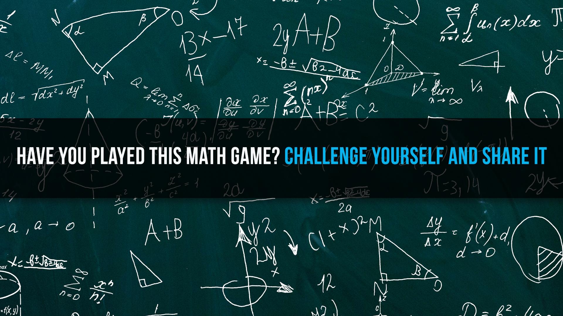 MATH QUIZ CHALLENGE