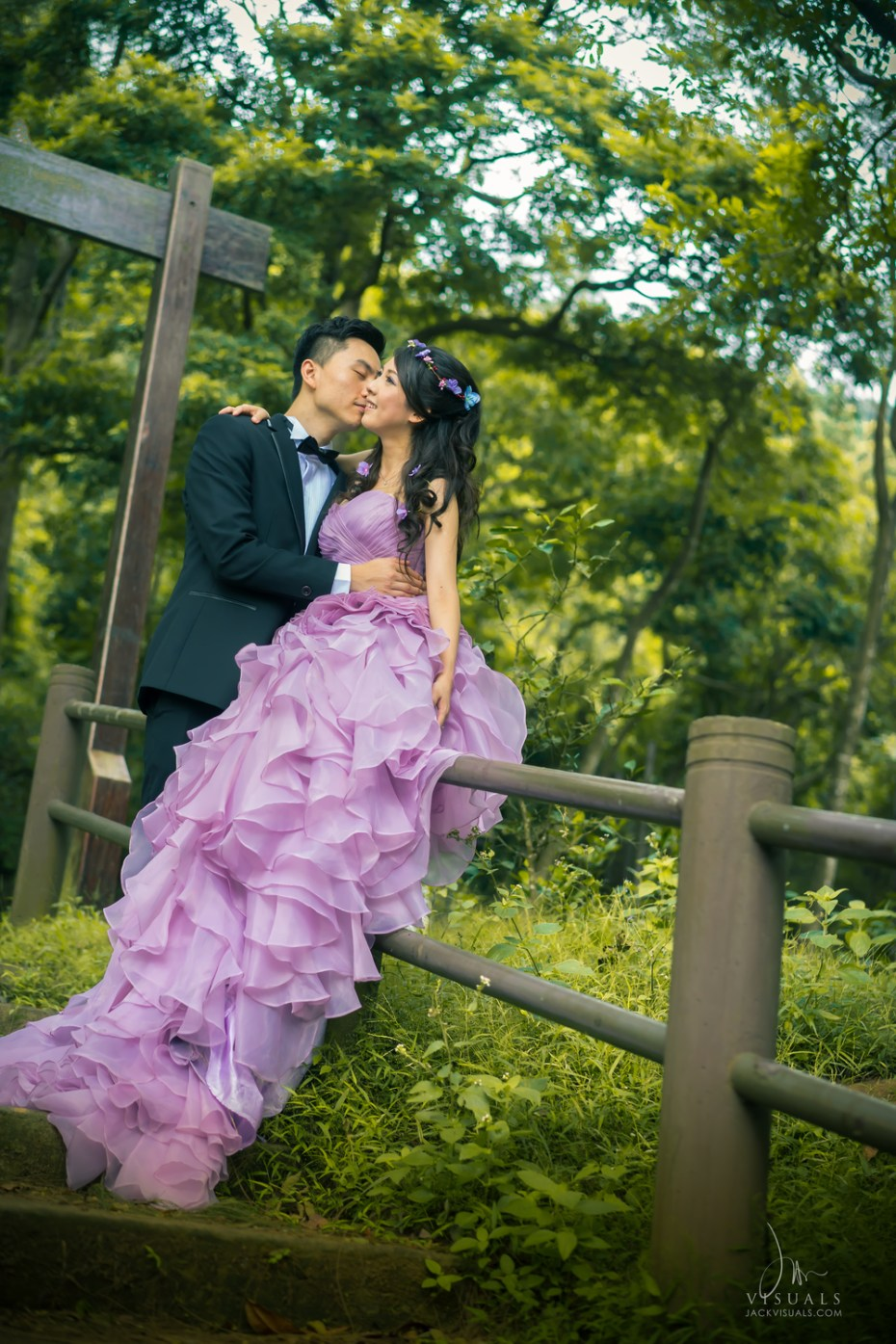 Shing Mun Reservoir Pre-wedding Picture