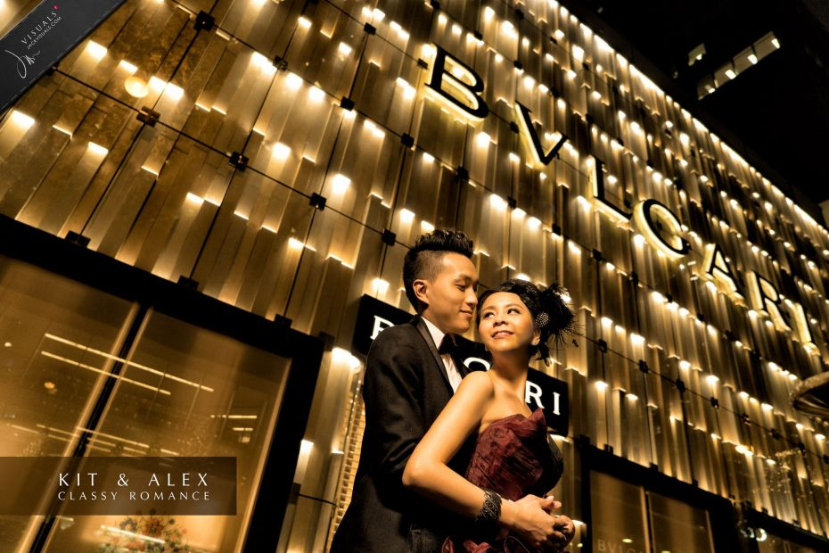 Hong Kong Central Wedding Photography
