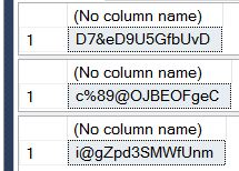 PasswordGenerationResults