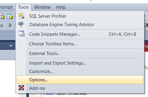 ssms_tools_options_menu