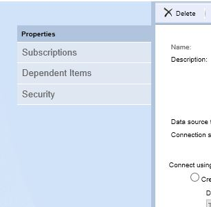 Creating A Shared Data Source In SQL Server Reporting