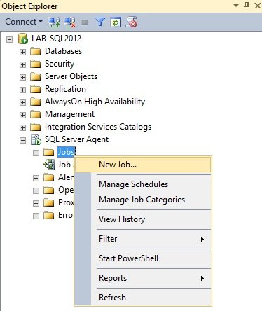 Creating A SQL Server Agent Job To Call A Deployed SSIS