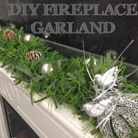 DIY Fireplace Garland