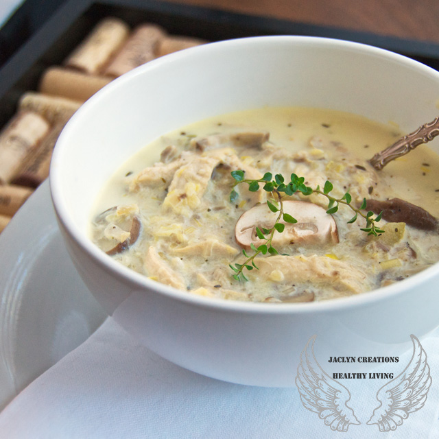 Vegan Hearty Cream Of Mushroom Soup (Gluten Free)