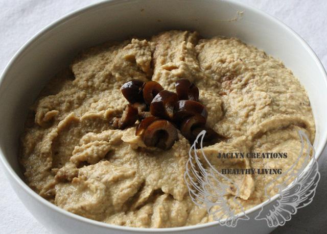 Vegan Black Olive Hummus