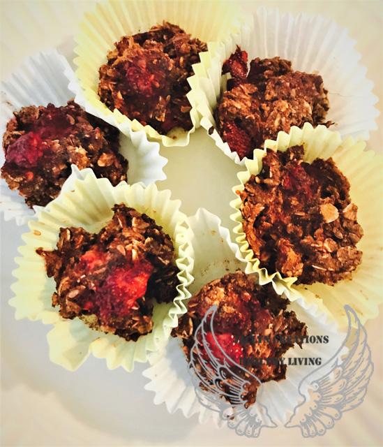 Berrylicious Chocolate Carob Muffins