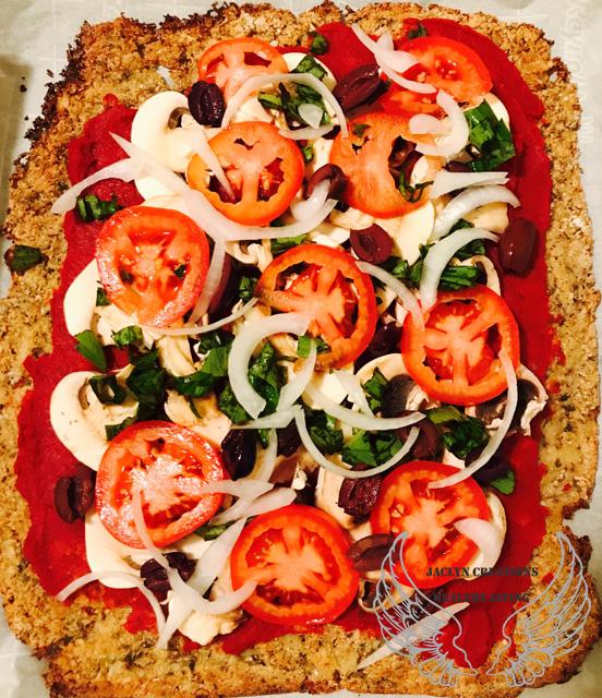 Jaclyn's Artisan Style Cauliflower Crust Pizza