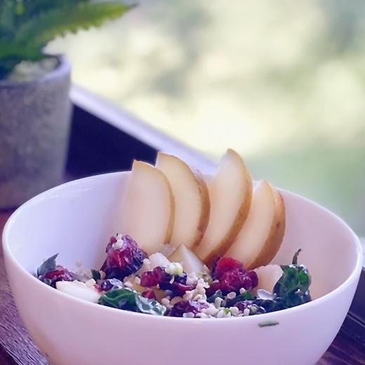 Green Goddess Pear Salad