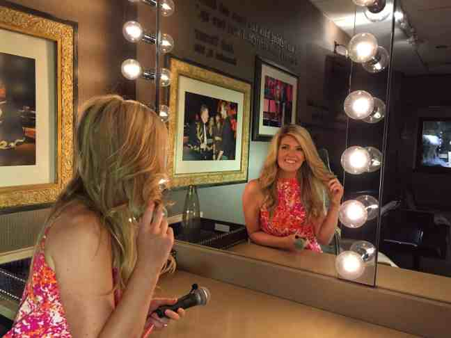Jaclyn Colville Dressing Room- NASHVILLE