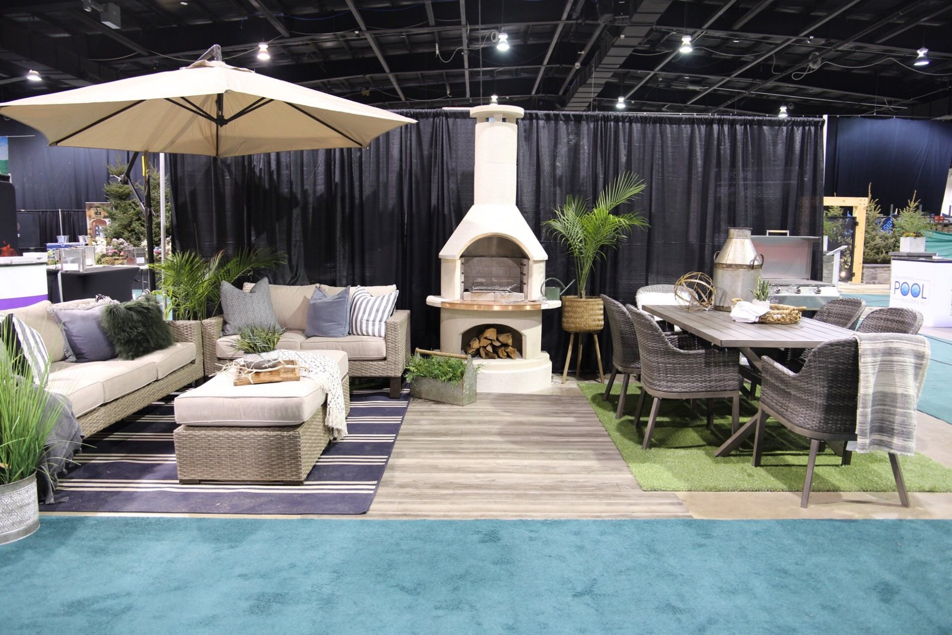 jaclyn harper / harper designs / backyard living expo