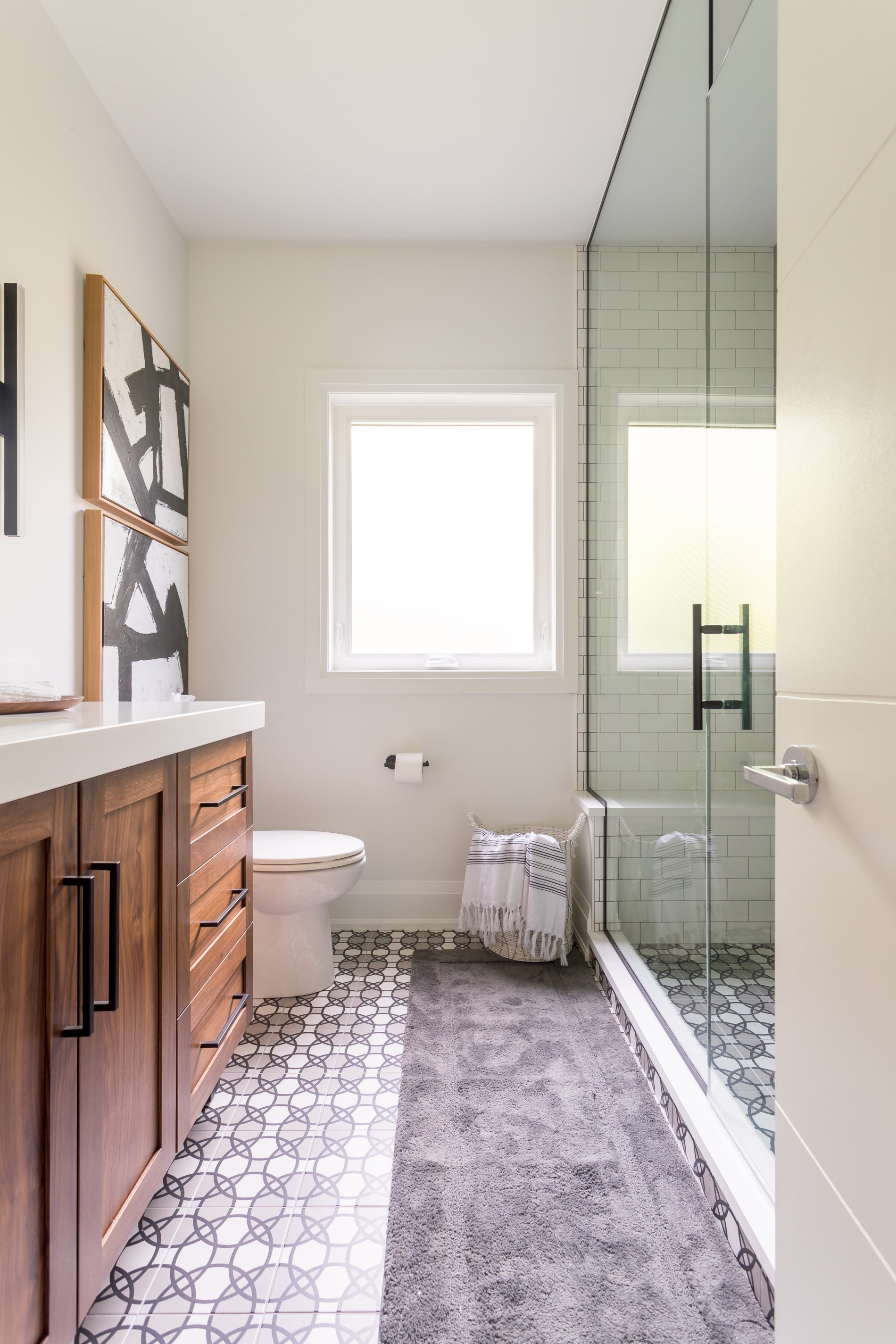 Harper Designs Project: Highvalley Bathroom 2 - 4