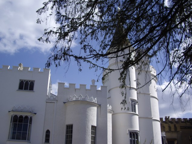 Strawberry Hill House, front view